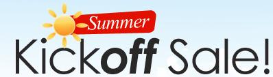 Summer Kickoff sale image