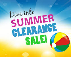 Summer Clearance sale image for July