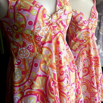 colourful printed dresses