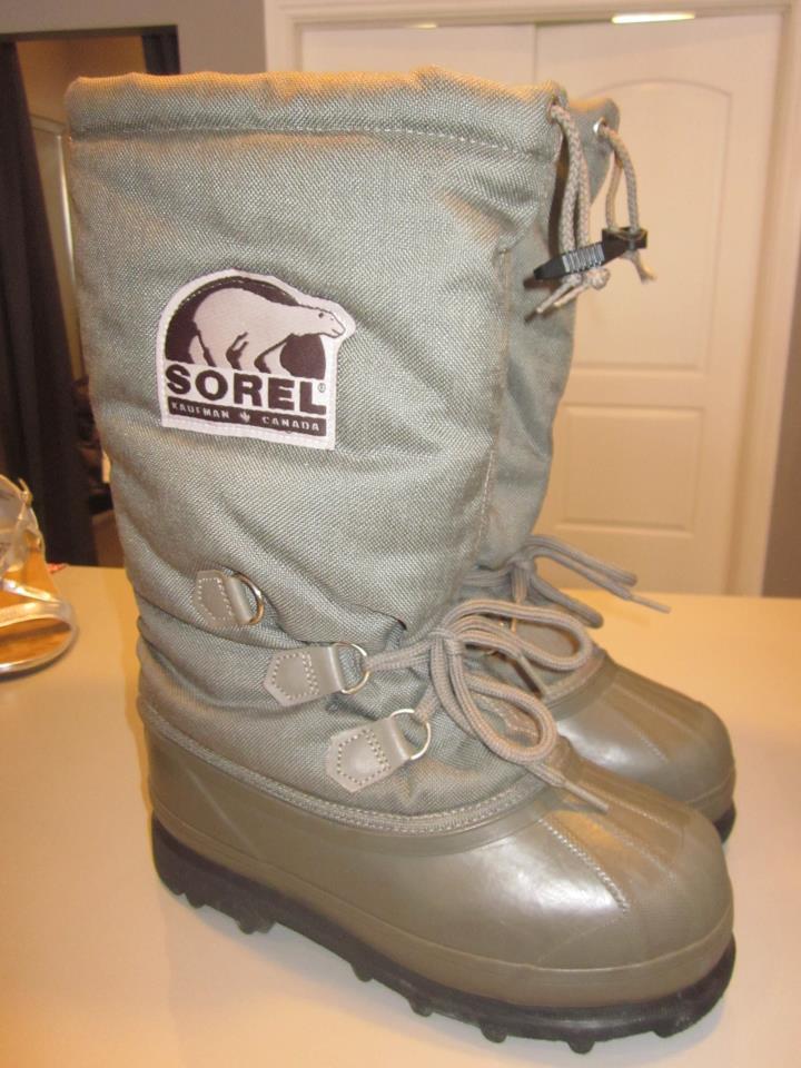 Sorel boots...nice!